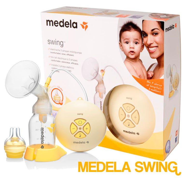 sacaleches eléctrico medela swing, el aliado de las mamas