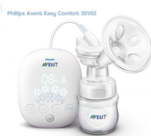 sacaleches avent easy comfort, facil y simple